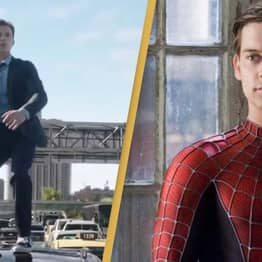 Fans Find Link Between Tom Holland And Tobey Maguire In Spider-Man: No Way Home Trailer