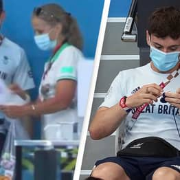 Tom Daley Gets Yarn Delivered To Poolside Following Knitting Controversy