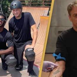 Lil Nas X And Tony Hawk Go Skating Together To Show No Bad Blood In Blood Deck Dispute