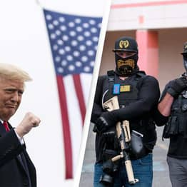 Donald Trump And Proud Boys Being Sued By Group Of Capitol Police Officers