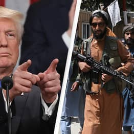 Trump Calls Out Twitter For Banning Him But Allowing The Taliban