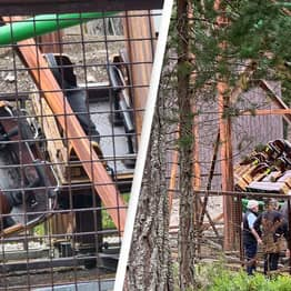 Children Injured As Rollercoaster 'Comes Off Its Tracks' At Theme Park