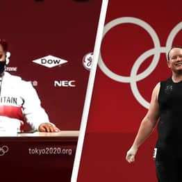Athletes Reject Awkward Question About Competing Against Transgender Weightlifter