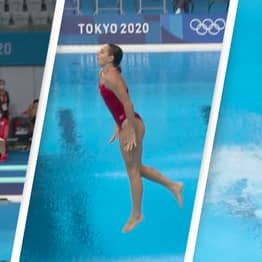 Diver Scores 0.0 After Going Feet First In Aborted Dive