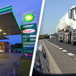 Petrol Stations Close As Lorry Driver Shortage Effects Hit UK