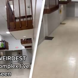 People Are Creeped Out By Footage Of Apartment That Has Indoor Balconies