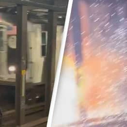Bicycle On Subway Tracks Leads To Explosion In NYC