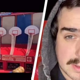 Ex-Carnival Employee Reveals Secret That Makes Basketball Game Harder Than It Looks