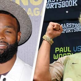 Tyron Woodley Confirms He'll Get 'I Love Jake Paul Tattoo' This Weekend
