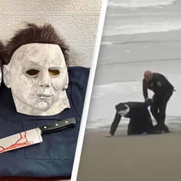 Lawyer Arrested For Dressing As Michael Myers On Beach