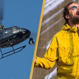 Fans Baffled As Liam Gallagher Shares Picture Revealing He 'Fell Out Of A Helicopter'