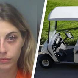 Nude Woman Driving Golf Cart Crashes Armed Police Standoff