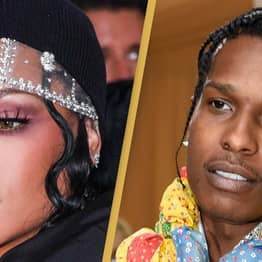 Rihanna And ASAP Rocky Make Red Carpet Couple Debut In Iconic Outfits