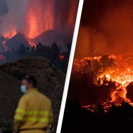 Canary Islands Volcano Has Now Engulfed At Least 20 Houses In Lava