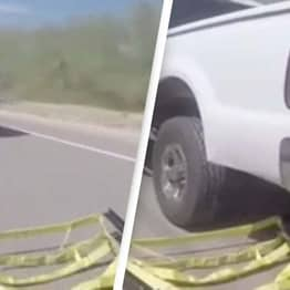 Incredible Police Car Grappler Used To Stop Moving Vehicles Aims To End Police Chases Safely