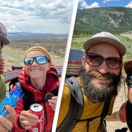 Fearless Couple Are Hiking 3,000 Miles From Mexico To Canada