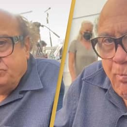 Danny DeVito Protects Forbidden Fruit While Filming It's Always Sunny In Philadelphia