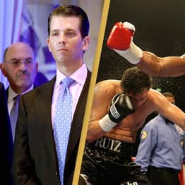 Donald Trump And His Son Will Commentate On Two Huge Comeback Boxing Fights This Year