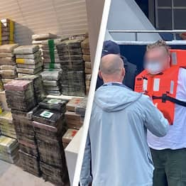 £120 Million Of Cocaine Seized By Authorities Off British Coast In Huge Bust