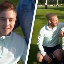 Football Team Has Incredible Response After Boy With Cerebral Palsy Was Abused Online