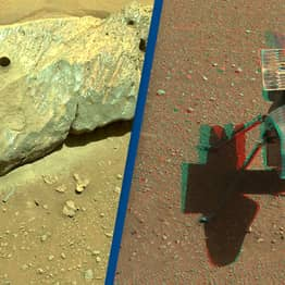 NASA's Mars Rover Recovers 'Perfect' Rock Sample To Send Back To Earth