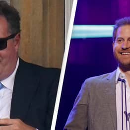 Piers Morgan Cut His Face Looking At Headlines About Himself While Trying To Escape Prince Harry Speech