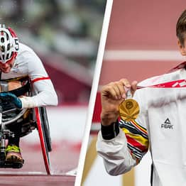 Paralympian Forced To Use Duct-Tape After Competitor 'Sabotaged' His Wheelchair Still Wins Gold