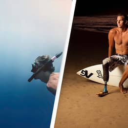 Shark Attack Victim Only Realised He Lost His Leg When He Saw It Floating Away