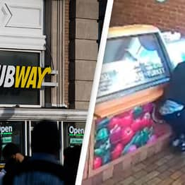 Subway Employee Gets Suspended After Fighting Off Armed Robber In Store