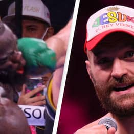 Tyson Fury Responds To Deontay Wilder Glove Accusations Following Heroic Win