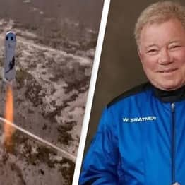 Captain Kirk, William Shatner, Officially Becomes Oldest Man In Space
