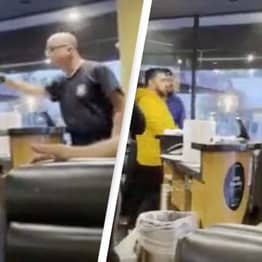 Anti-Masker Gets Punched In The Face After Shoving Restaurant Customer In Viral Video