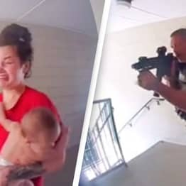 Doorbell Cam Shows US Agents Break Into Wrong Apartment To Hold Mum And Baby At Gunpoint
