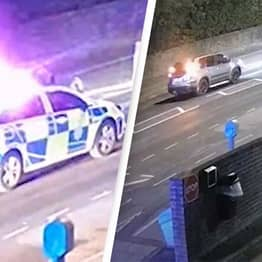 Motorcyclist Who Faked Crash Scene Before Calling Emergency Services Caught On CCTV