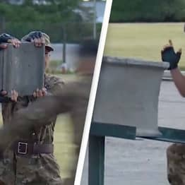 Soldiers Smash Bricks With Their Heads To Impress Kim Jong-un