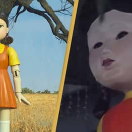 'Squid Game' Creators Install 'Murdering Doll' Outside Shopping Mall To Eliminate Jaywalkers