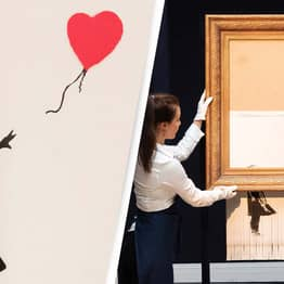 Banksy Artwork That Was Partially Shredded Breaks Record At Auction
