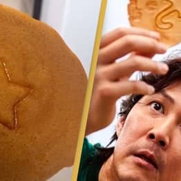 Man Shows How To Make The Squid Game Cookies