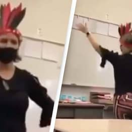 Native American Student Exposes 'Ignorant' Teacher Committing 'Violence' In Viral Video