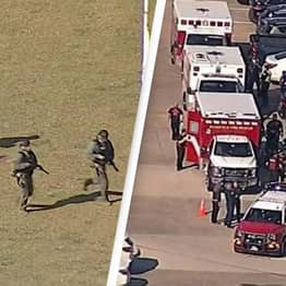 Police Confirm Number Of Victims And Suspect Involved In Shooting At Texas High School