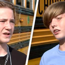 Two Boys Praised For Saving Bus Driver During Medical Emergency