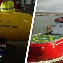 Ship Meant To Be Called Boaty McBoatface Makes Maiden Voyage Under New Name