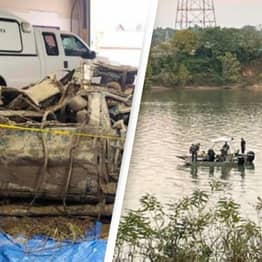 Mystery As Human Remains Discovered From Car Lost In River For 20 Years