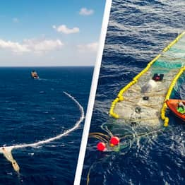 Ocean Cleanup Extracts 20,000 Pounds Of Rubbish From Pacific Garbage Patch