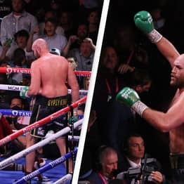 Tyson Fury Labels Deontay Wilder A 'Sore Loser' Following His Comments When The Match Ended