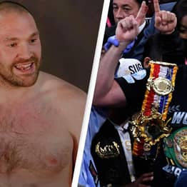 Tyson Fury Posts Inspirational Mental Health Motivation After Title Win