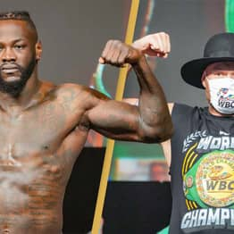 Deontay Wilder Complains About Tyson Fury's Gloves Ahead Of Trilogy Fight
