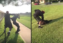 Guy Hands Out Some Street Justice To His Sister's Abusive Boyfriend