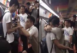 Man Proposes To His Boyfriend On Beijing Underground, Melts China's Heart
