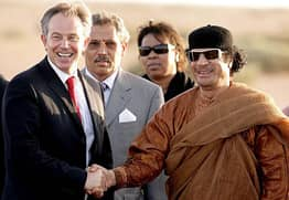 Leaked Email Shows Tony Blair Told Gaddafi To Hide And Avoid Capture